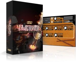 Fractured: Prepared Acoustic Guitar
