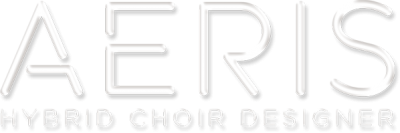 Aeris: Hybrid Choir Designer Logo