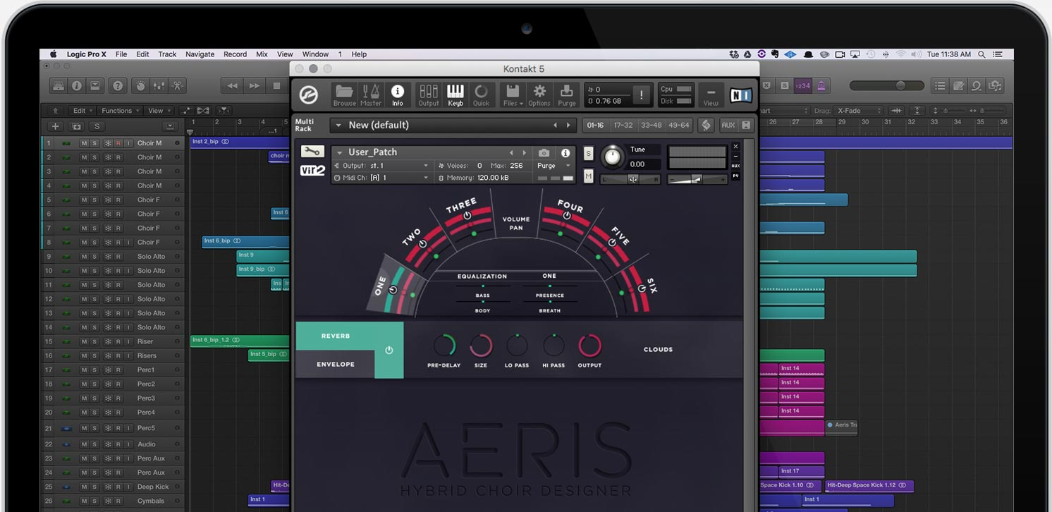 Aeris User Patch Screen