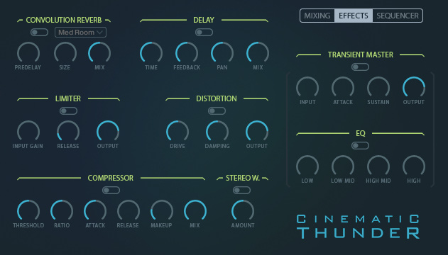 Cinematic Thunder Sequencer Clip