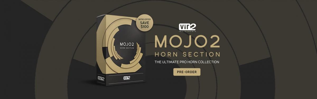 MOJO 2: Horn Section Banner